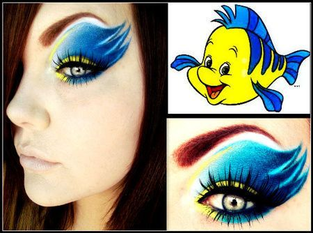 INSPIRA DNIA: makijaż z bajek Disneya