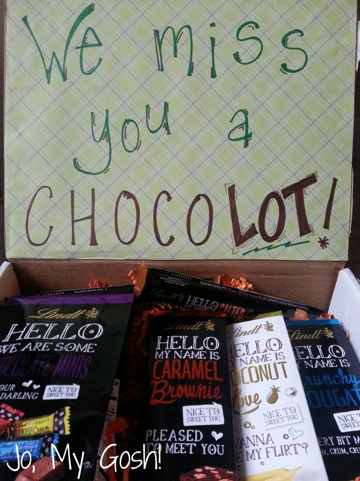 Chocolate Lover's Care Package | Jo, My Gosh!