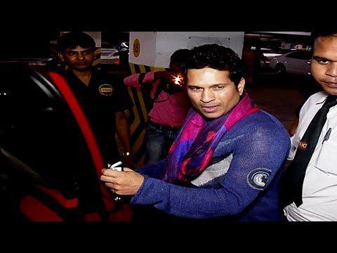 Sachin Tendulkar at screening of BATMAN vs SUPERMAN movie.