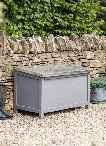Northcote Outdoor Storage Box, Large in Charcoal - Spruce on sale in the UK along with best prices on many other home and garden items