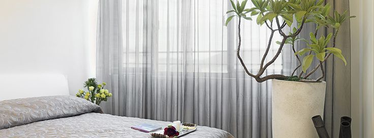 Winter is on its way out and a bright, sunny spring is just around the corner. #spring #curtains #sheer