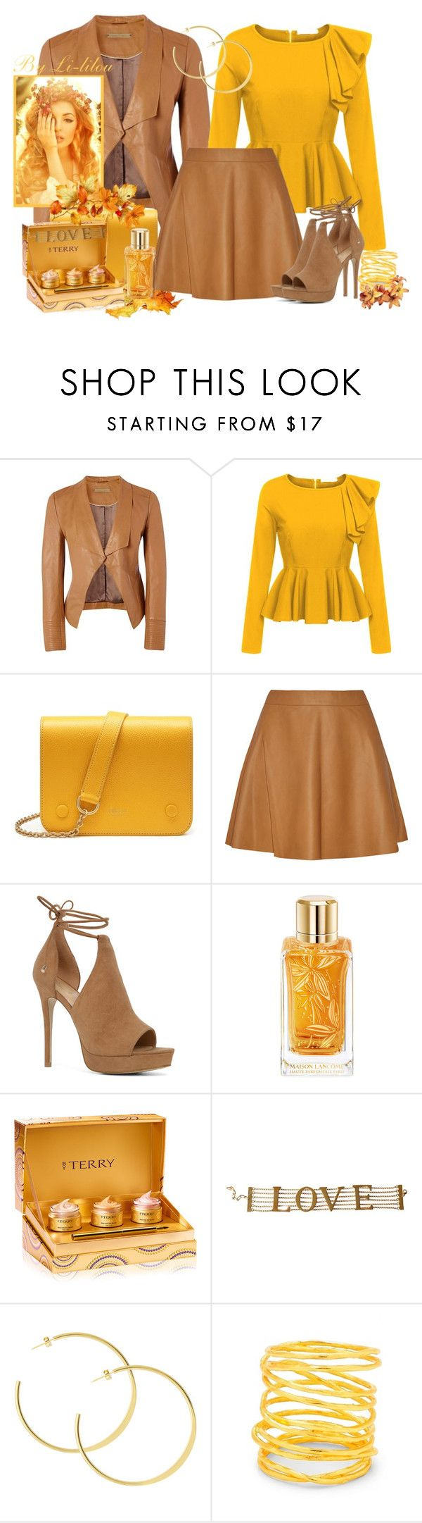 """""""Love Terry"""" by li-lilou ❤ liked on Polyvore featuring Richards Radcliffe, Mulberry, ALDO, Lancôme, By Terry, Dolce&Gabbana and Gorjana"""