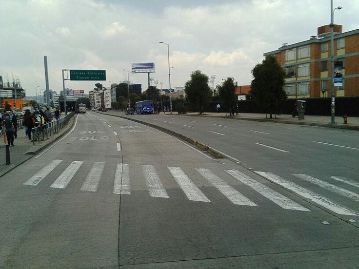 Calle 100 con Av Suba.