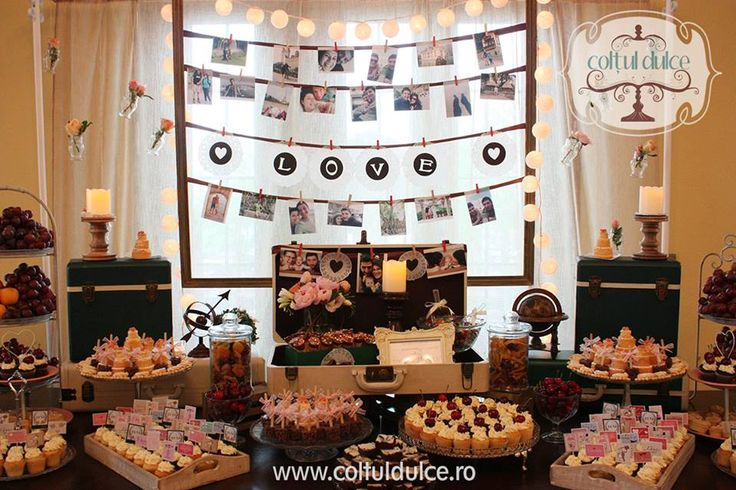 Travel theme trip Candy Bar / Coltul Dulce / Dessert Table ...