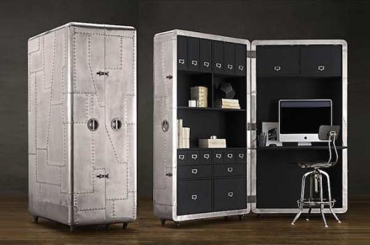 Bureau Mobile .... http://maverik.ca/article/maison-en-bref/bureau-mobile-blackhawk-secretary-trunk
