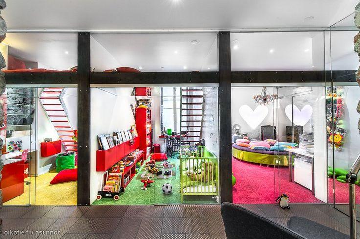 Myytävät asunnot, Liisankatu 21 A, Helsinki #oikotieasunnot #lastenhuone #kidsroom