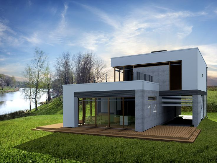 Projekt domu EC NARVIK 2 - DOM 1-07 - gotowy projekt domu