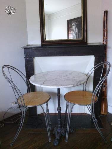 table bistrot chaises ameublement paris 50 bistrot mood pinterest table. Black Bedroom Furniture Sets. Home Design Ideas