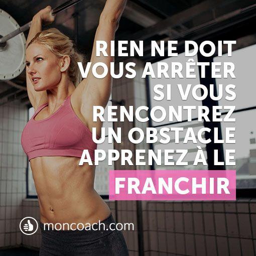 Chaque problème est juste un obstacle! ✊ Pour avoir plus de conseils : http://blog.moncoach.com/souleve-de-terre-la-barre/ #fitness #fitgirl