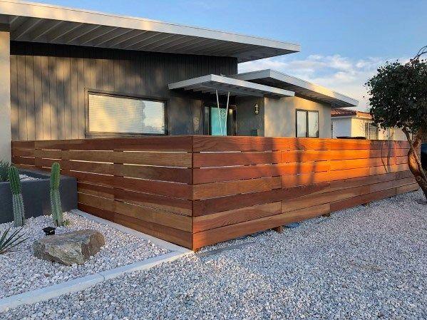 Top 60 Best Modern Fence Ideas Contemporary Outdoor Designs Modern Wood Fence Modern Fence Design Fence Design