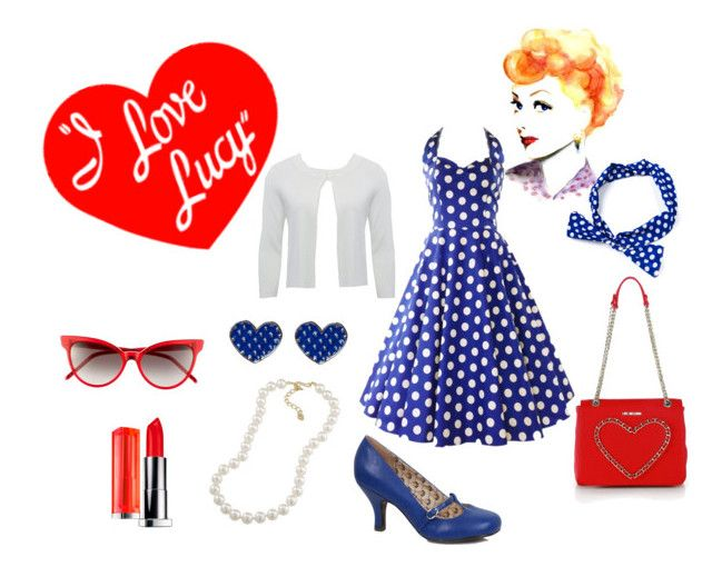 i love lucy by misstiffiniemae on polyvore - I Love Lucy Halloween Costumes