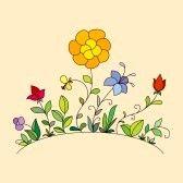 13556599-hand-getekende-bloemen.jpg 168×168 pixels