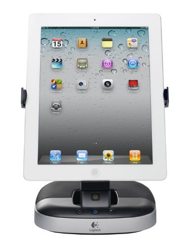 Logitech 980-000590 Speaker Stand for iPad Logitech