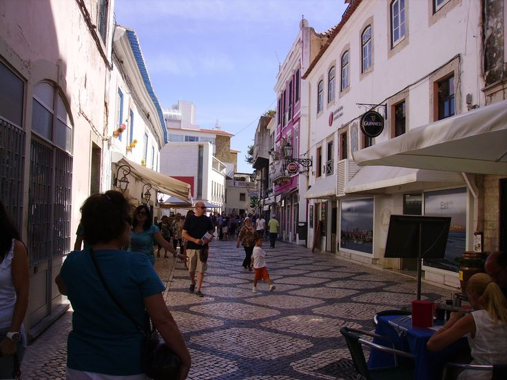 Walkways in Lisbon