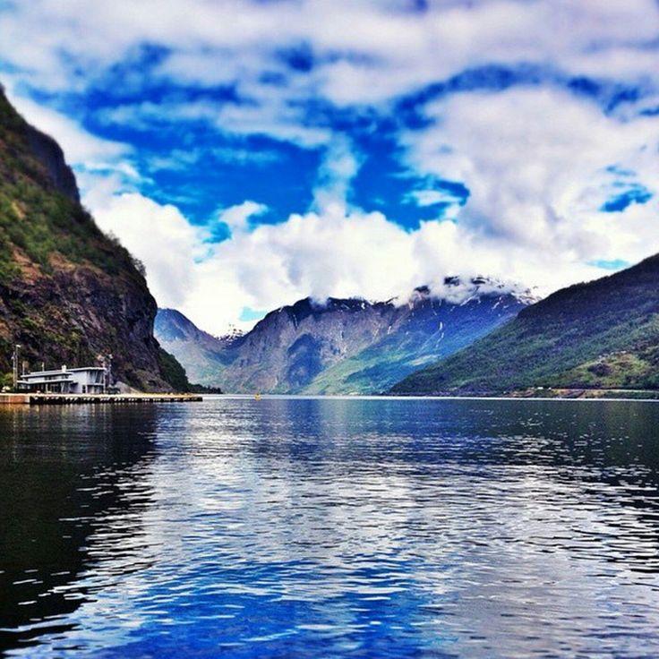 Fiordul Sognefjord, Norvegia