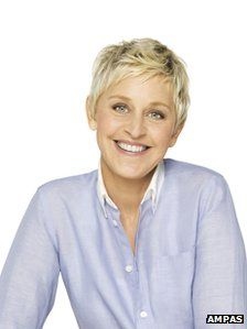 Ellen DeGeneres - Favorite Talk Show host/comedian! Would love to go on her show someday!!!