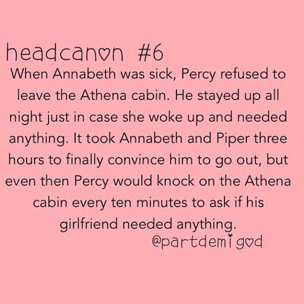 Percy Jackson is rewarded with the best boyfriend award yet again!