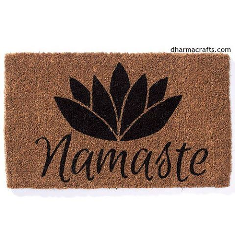 Offer the warmest of welcomes at the doorway of your home or yoga studio. The Sanskrit word #Namaste means I bow to you. It is a blessing as much as a greeting because it acknowledges the sacred Oneness we all share.  Inspiring feelings of #SympatheticJoy