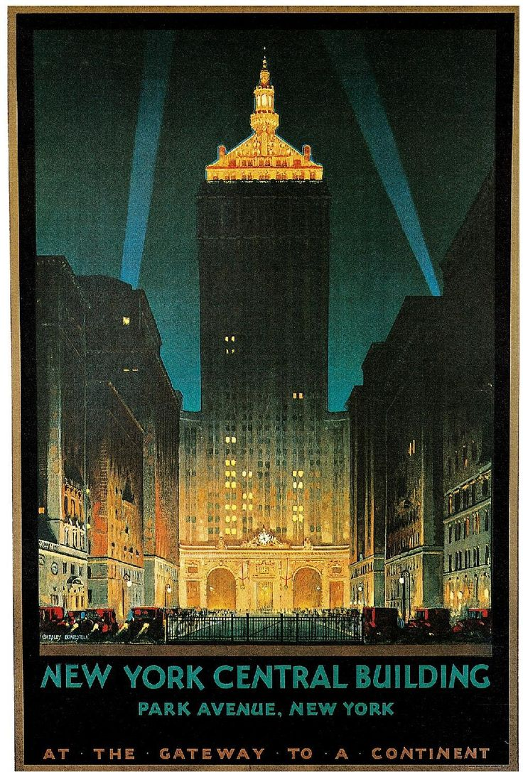 """robertshmoses: """" Built in 1929 as the headquarters for the New York Central Railroad Co., it became the Helmsley Building when it was sold to Leona Helmsley in 1998 """""""