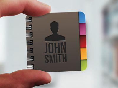 Mini-business-card