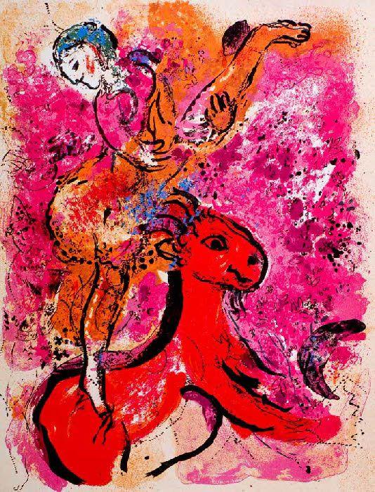 Les 25 meilleures id es de la cat gorie au cheval sur for Biographie de marc chagall