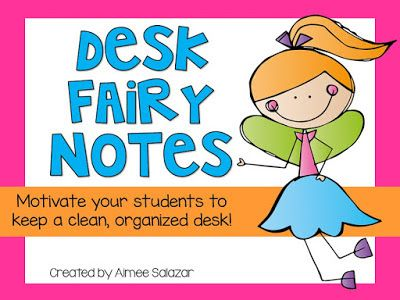 Primarily Speaking: The Desk Fairy Left YOU a Little {FREE} Treat!