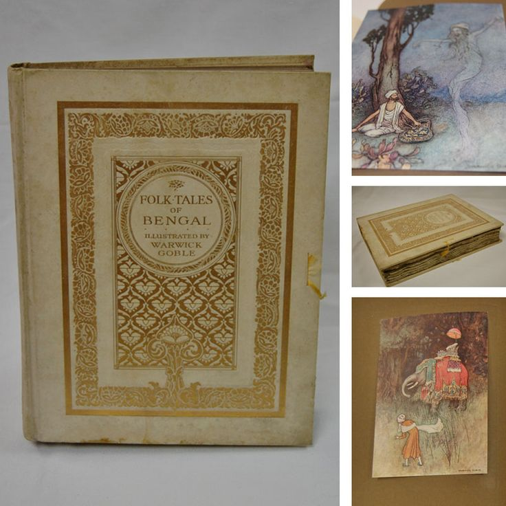 'Folk Tales of Bengal' - Edition de Luxe (1912). by Rev. Lal Behari Day featuring 32 stunning colour illustrations by Warwick Goble. Priced at €300 this is one of our pricier, collector's items, kindly donated by a very generous supporter. https://www.oxfamireland.org/shop/oxfam-books-parliament-st