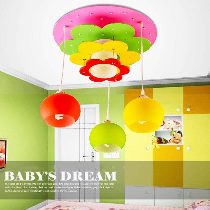 165.75$  Watch now - http://alid35.worldwells.pw/go.php?t=32775787153 - Baby Room Suspension Cartoon Wood Lamp Led Pendant Light Kids Green Pendant Lights 110V 220V Glass Pendant Lamps 165.75$