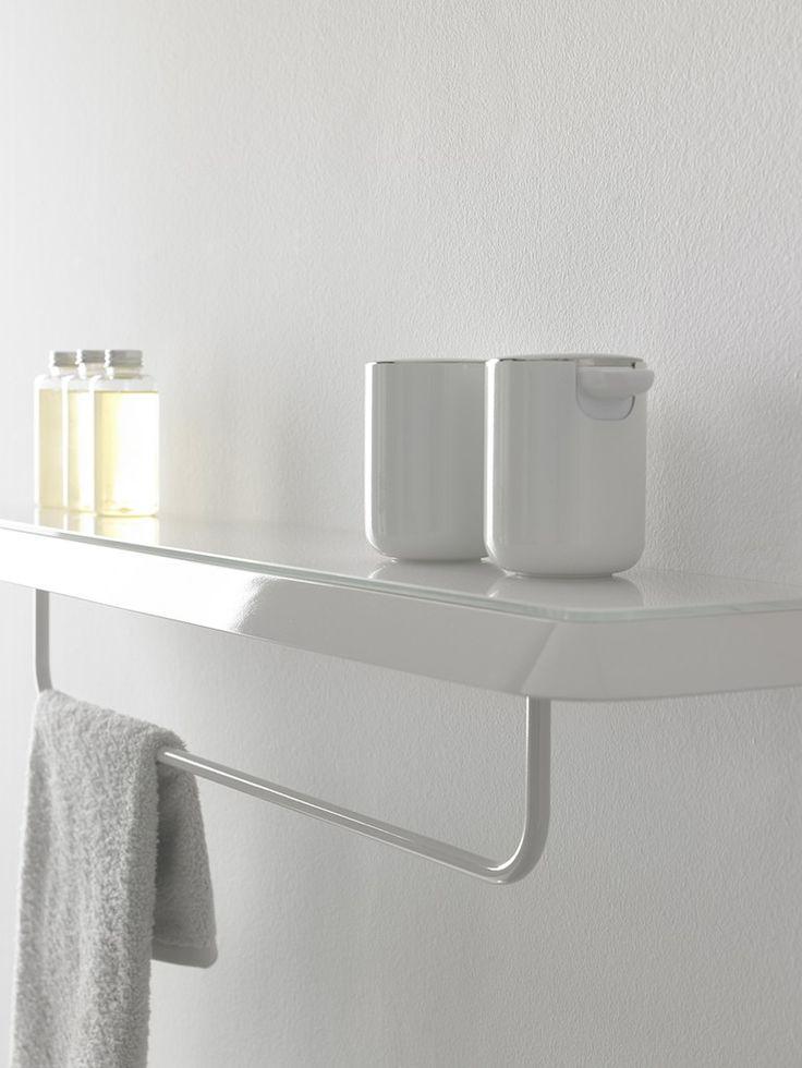Le 25 migliori idee su mensola da arredamento per bagno su - Porta asciugamani bagno ...