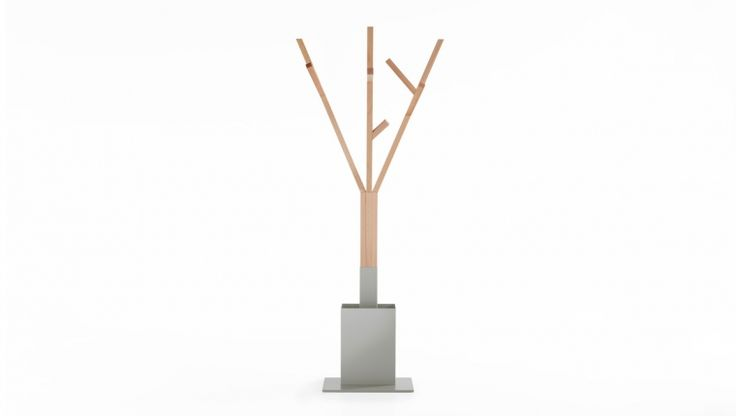 Alceo / coat rack & umbrella stand / design Jacopo Biasio / Formabilio