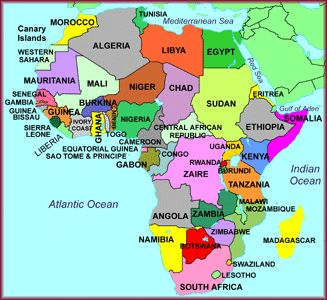 89 best Maps/etc images on Pinterest | Africa map, Africans and