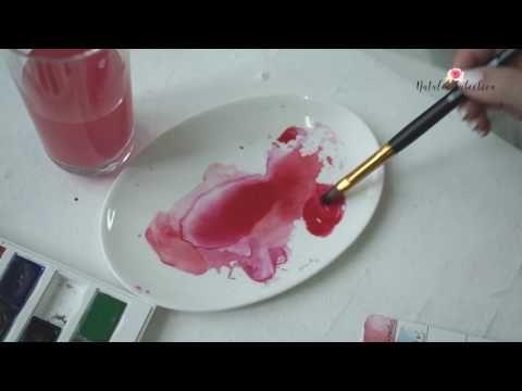 """Ошибки в акварельной живописи, и как спасти рисунок акварелью, если он не получился. Все учебные курсы нашей школы """"Рисовать могут ВСЕ!"""" на сайте: http://mog..."""