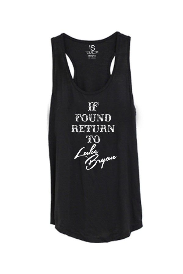 Women's Return to Luke Bryan Tank Top