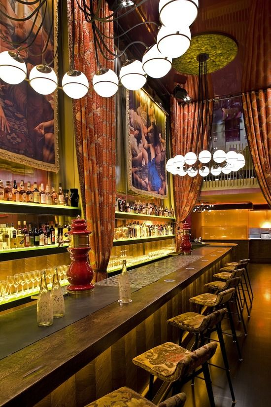 Gitane Restaurant in San Francisco, designed by Mr. Important
