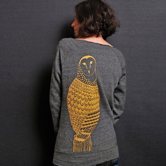 I love owl things!  Especially this sweater.  Thinking about making my own....hmm....project!