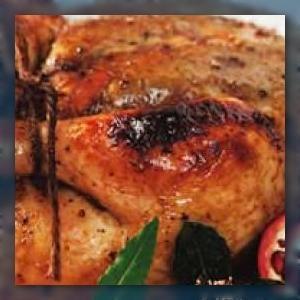 Roast Chicken with Pomegranate Glaze | Foodie Ideas | Pinterest ...