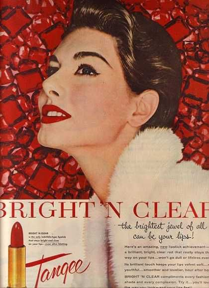 """Tangee's Bright """"n Clear Lipstick (1954)"""