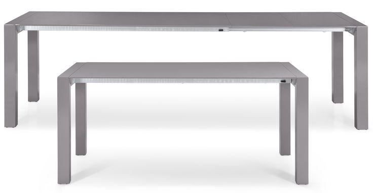 Bramante Extending Dining Table, Grey