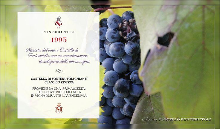Il 1995 è l'anno della nascita del Castello di Fonterutoli #fonterutoli #marchesimazzei #wine