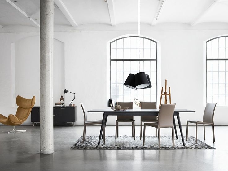 Milano Scandinavian Dining table - BoConcept Sydney