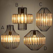 Loft Retro Vintage Pendant Lights Industrial Lustres Pendant Lamps Bar Cafe Restaurant suspension luminaire Home Lighting E27E26(China (Mainland))