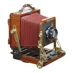 Wista 45DX Quince 4x5 Wooden Field Camera