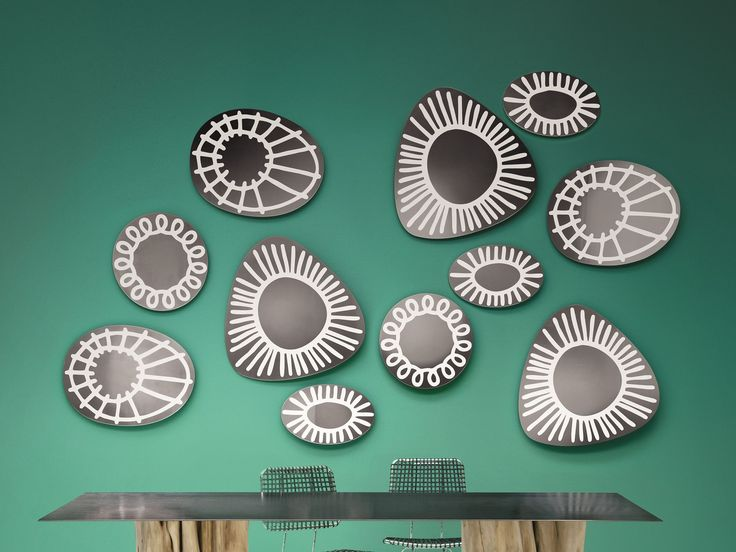 Wall Mounted Oval Mirror BRICK 96 By Gervasoni Design Paola Navone