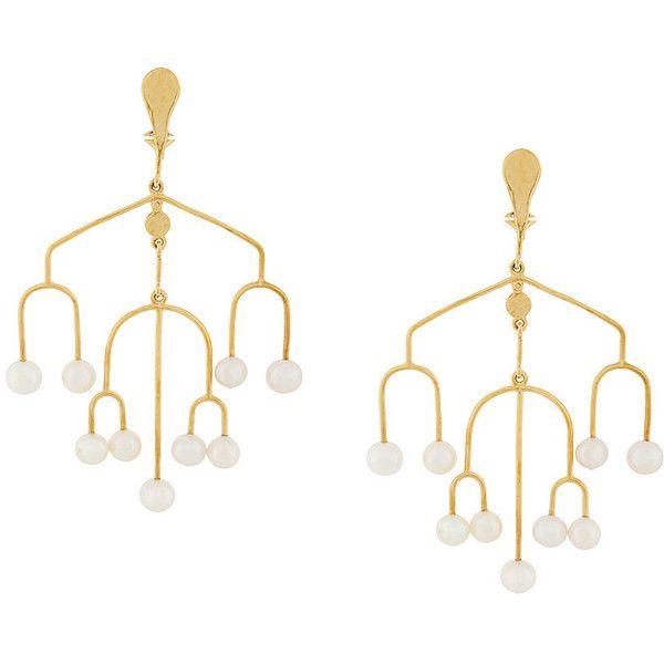Aurelie bidermann sirocco chandelier clip on earrings 3680 dkk aurelie bidermann sirocco chandelier clip on earrings 3680 dkk liked on polyvore aloadofball Gallery