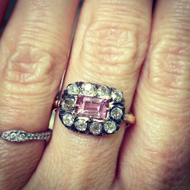Love this: Georgia ring from #NoraKogan