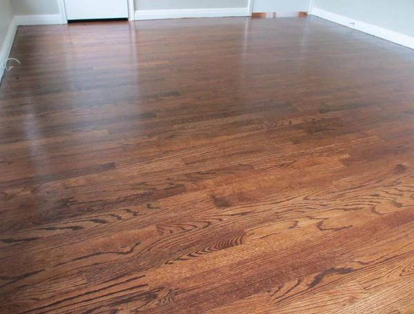 Red Oak Floors Stained Dark Walnut Red Oak Hardwood