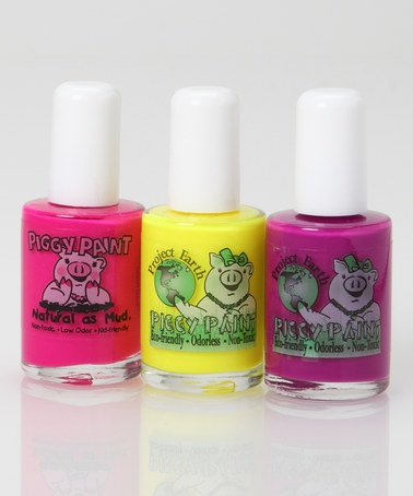 LOVE this all natural polish for my girls! Take a look at ... Natural Pink Nail Polish