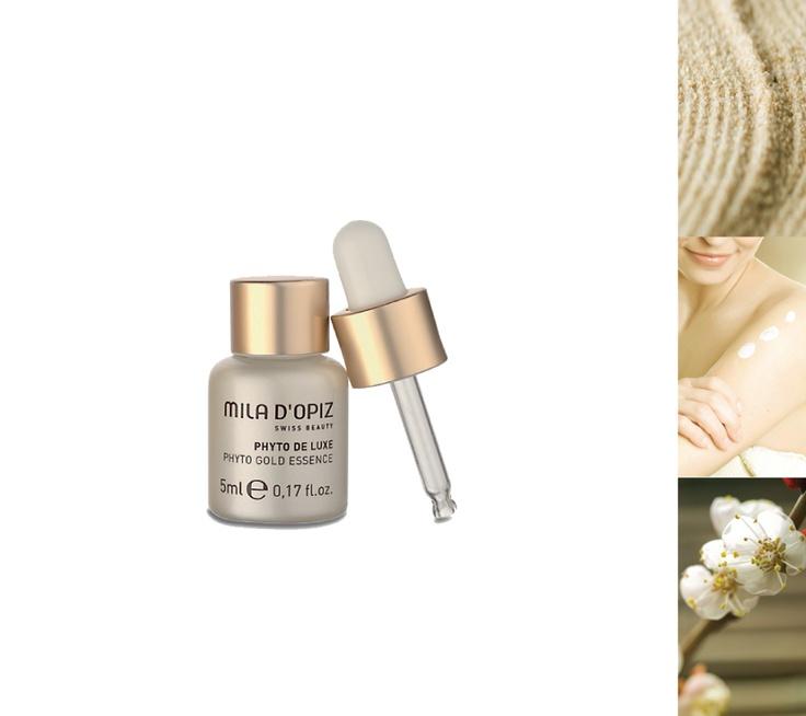 Mila d'Opiz Australia - Phyto De Luxe Gold Essence. Intensive treatment against fine lines & wrinkles.