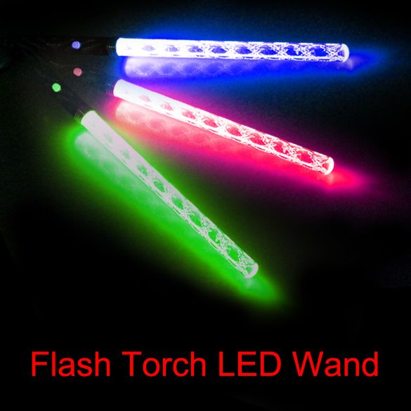 Kids Flashing Stick Toys LED Magic Wand Color Changing Flash Torch Party Concert Glow Light Stick for Kids Children Play Fun