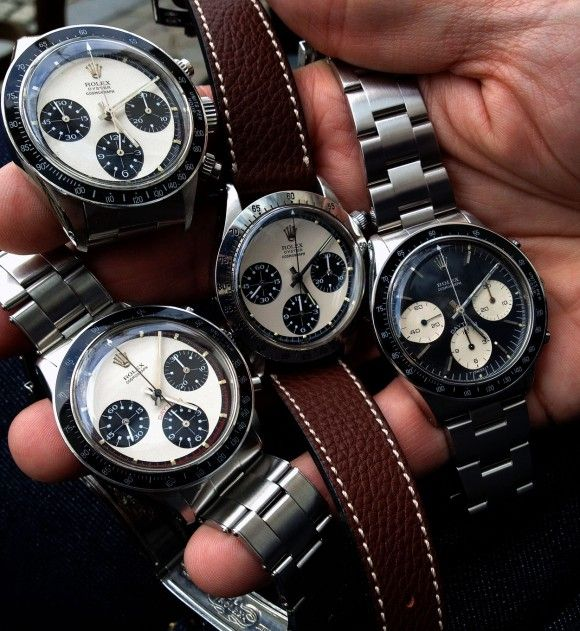 Rolex Passion Report  Philipp Stahl & friends on vintage & contemporary Rolex and Tudor        Subscribe via RSS      Rolex archive      Contact me    Handfull with some Legendary Vintage Rolex Paul Newman Cosmograph Race Daytona's…